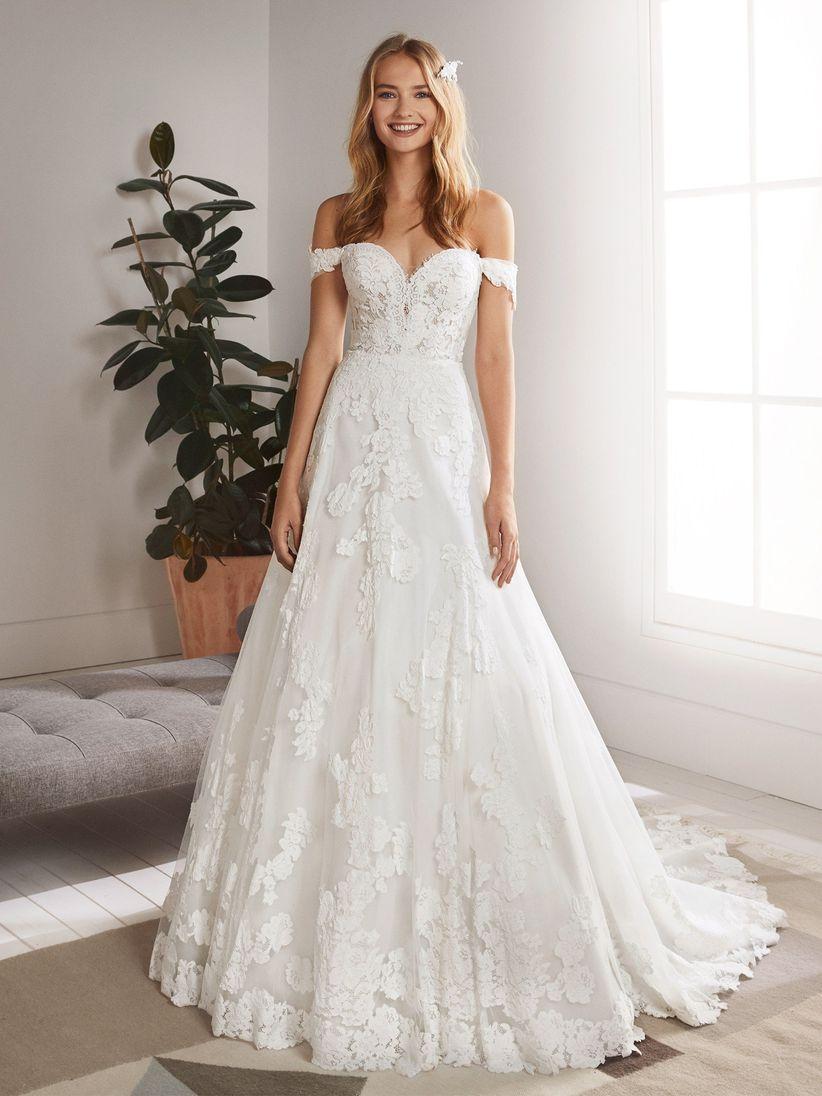 e42773f899 30 abiti da sposa in pizzo per stili diversi