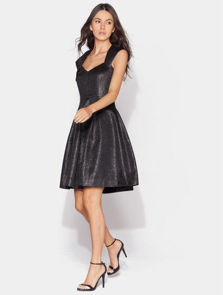outlet store 232a5 d50d9 20 abiti da cerimonia corti total black: classe, eleganza e ...