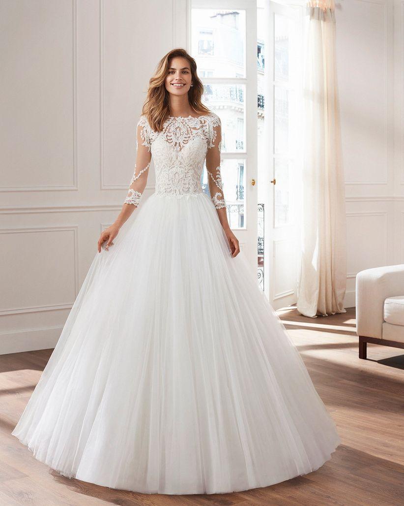 ba4334079d5e 40 abiti da sposa Luna Novias 2019  un eclettico romanticismo