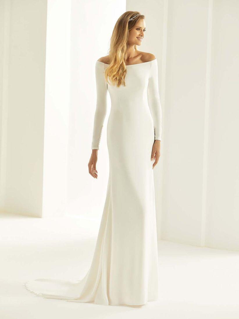 74860c21b1f27 Abiti da sposa semplici  i 50 modelli più belli
