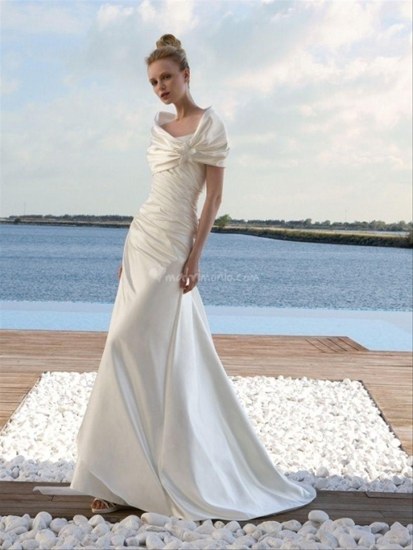 Vestiti Da Cerimonia Con Stola ~ Stola abito da sposa i vestiti sono  popolari in tutto a65a79f01ad