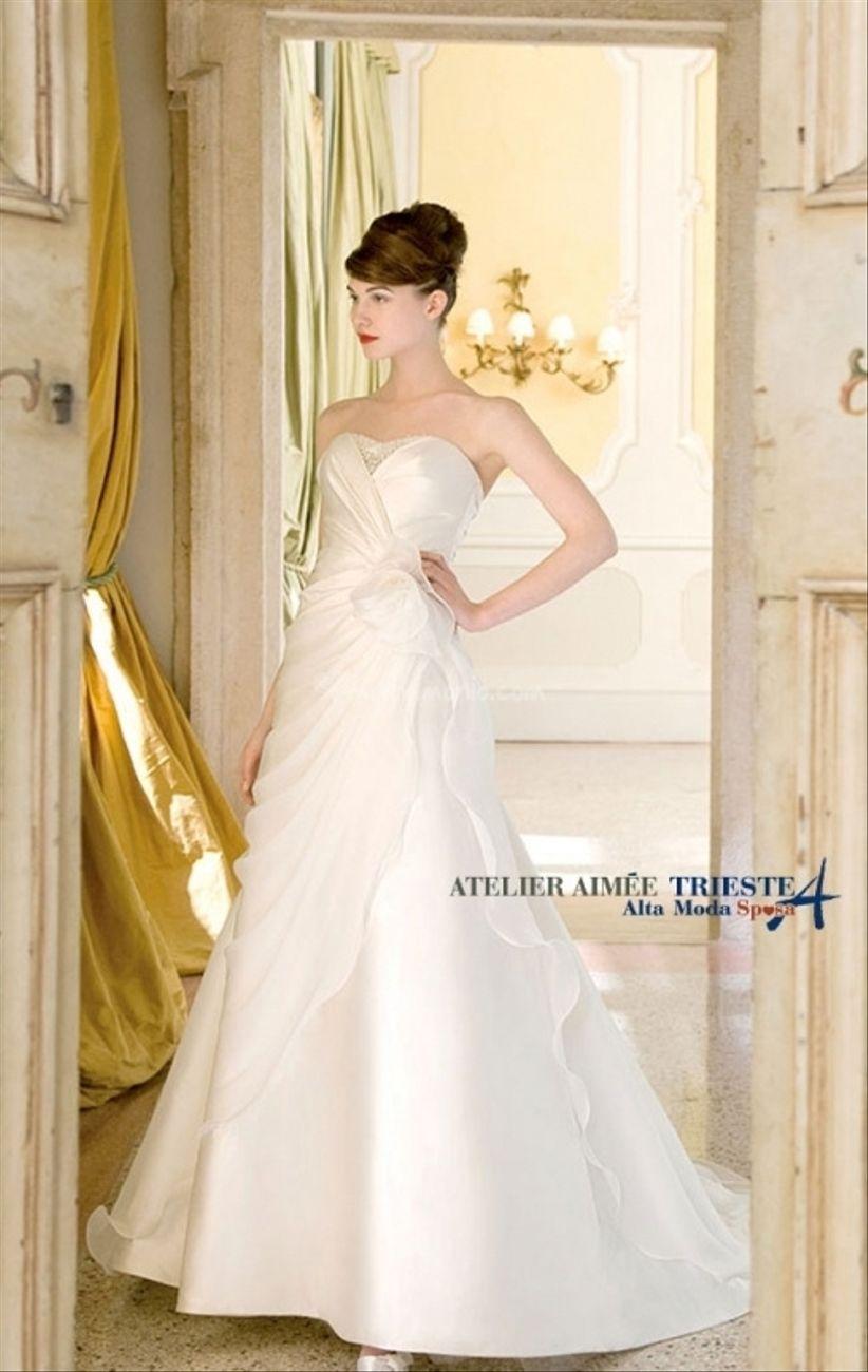 6cbef7e753d9 Collezione sposa 2014 Atelier Aimée Montenapoleone