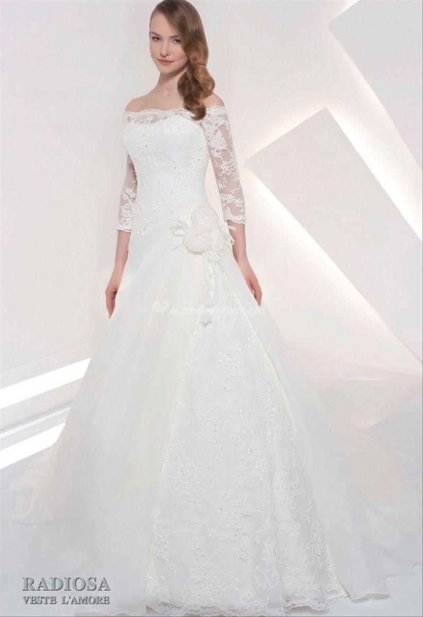 spesso 15 abiti da sposa a manica lunga 2014 GJ76