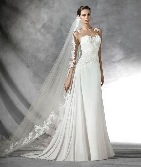 Vestiti da sposa per le più basse: 35 proposte per slanciare