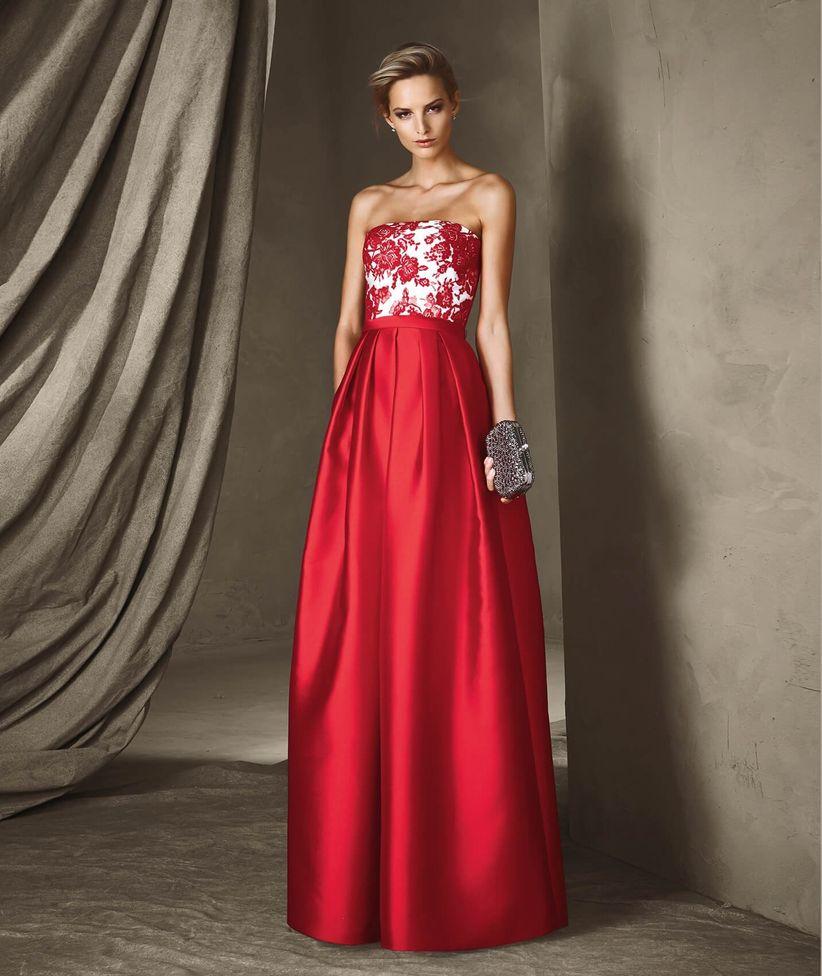 Vestiti cerimonia lunghi rosso