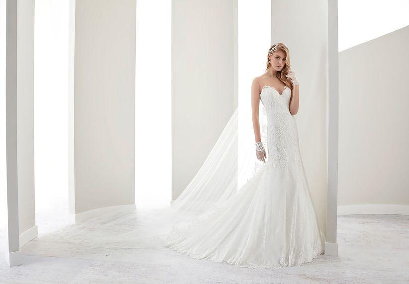 48d44177924a 25 spettacolari abiti a sirena per la sposa 2017