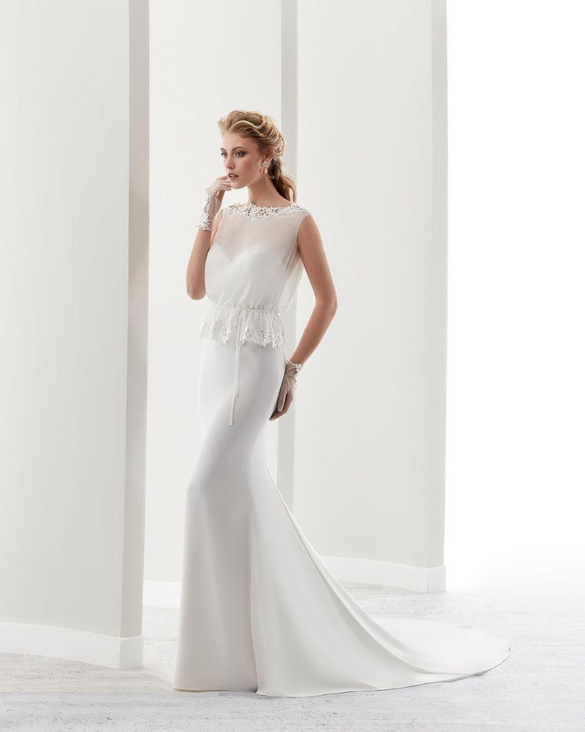 Favoloso Abiti da sposa semplici: i 50 modelli più belli LP02