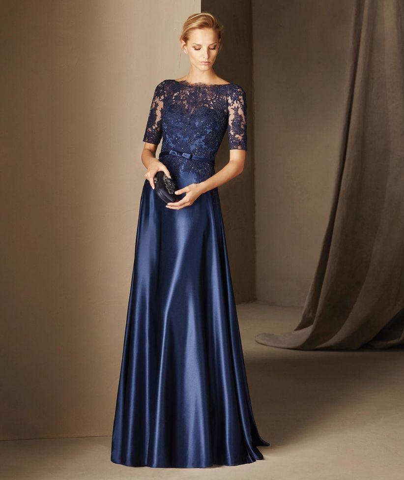 more photos c4f40 f6035 Vestito cerimonia blu notte – Vestiti da cerimonia