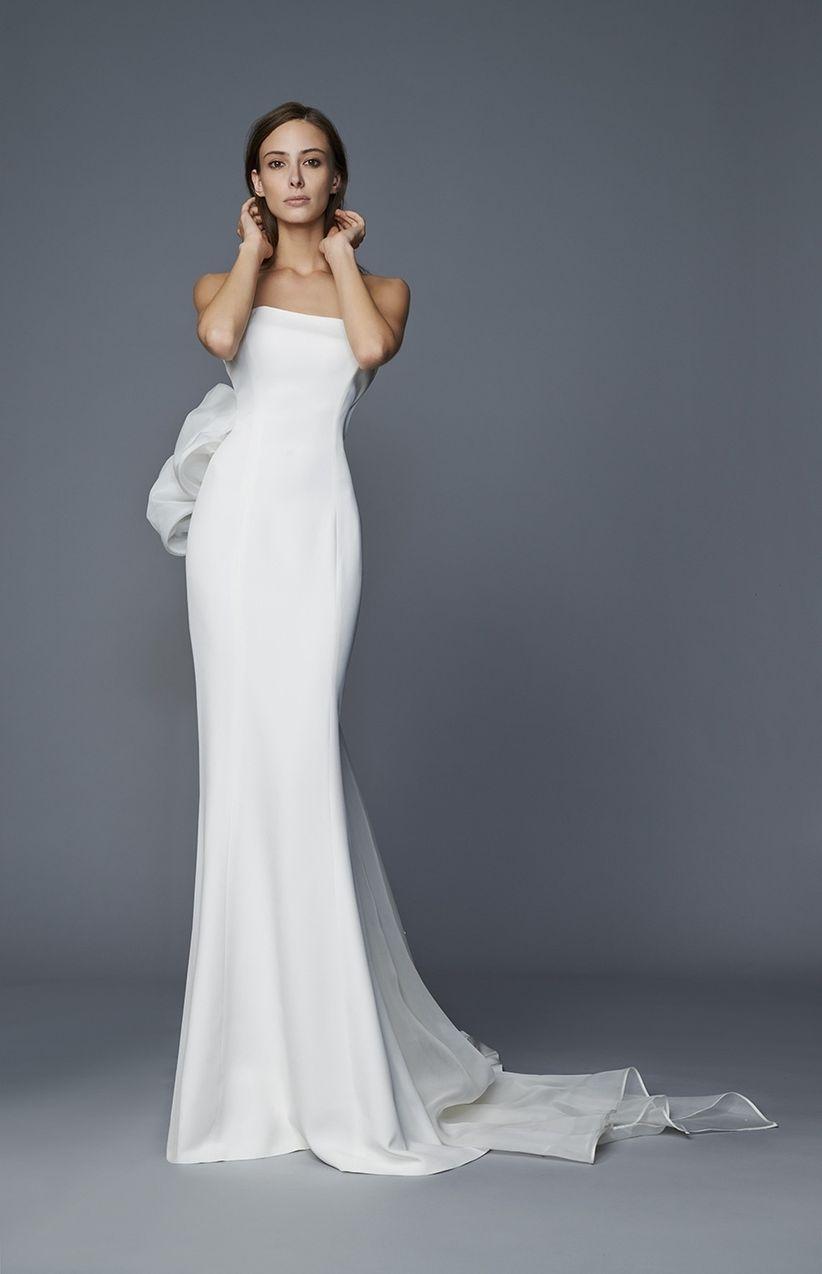 Amato Abiti da sposa semplici: i 50 modelli più belli UX67