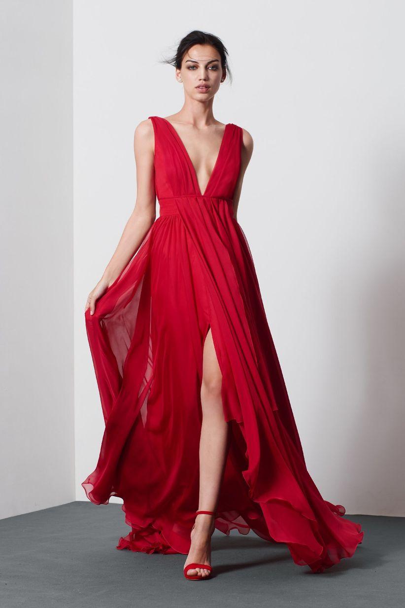 e960e98b6f8e 30 abiti da cerimonia in rosso da non perdere!
