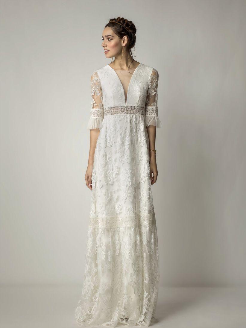 Vestiti da sposa pizzo vintage