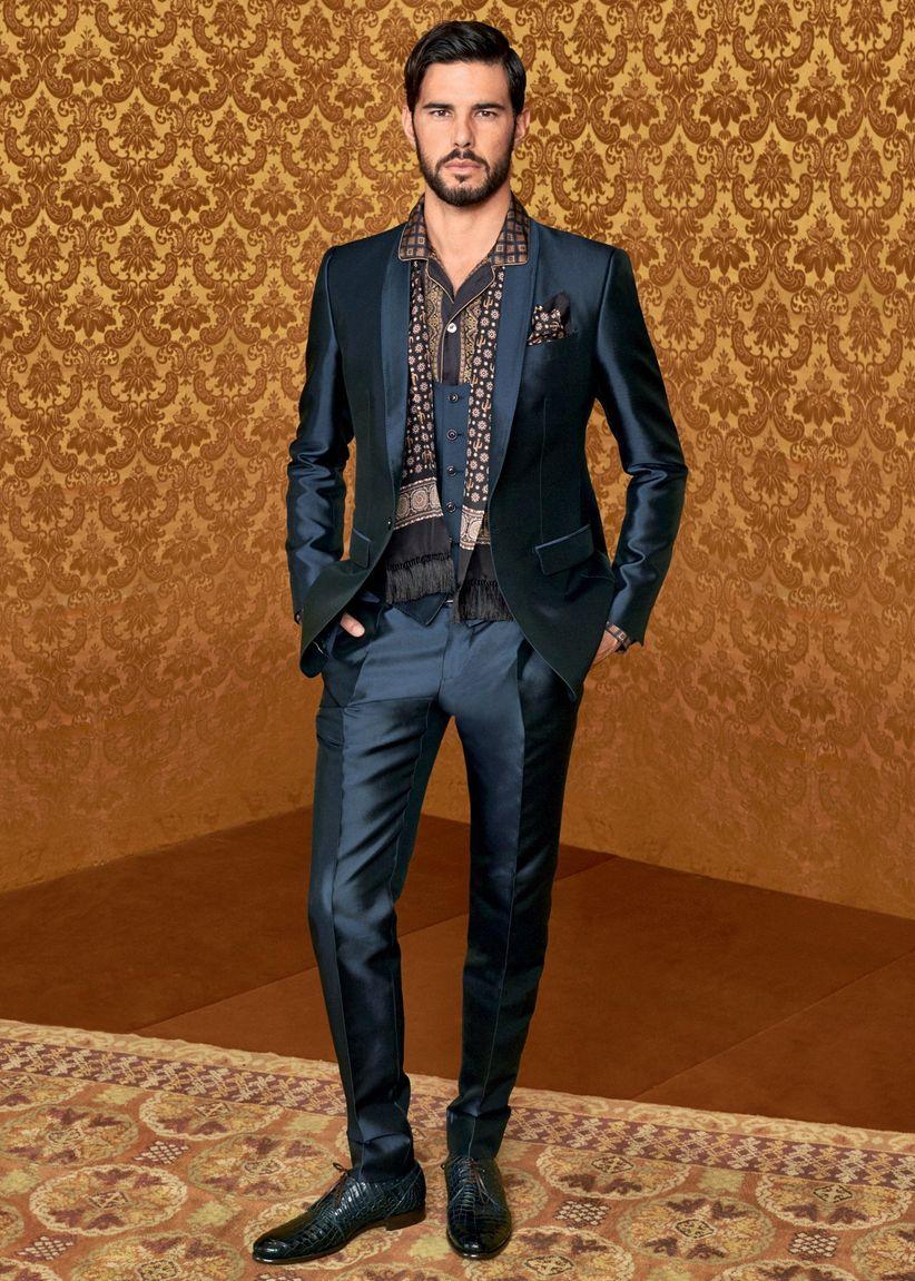Vestiti Matrimonio Uomo Dolce E Gabbana : Collezione dolce gabbana sposo ecco i modelli che