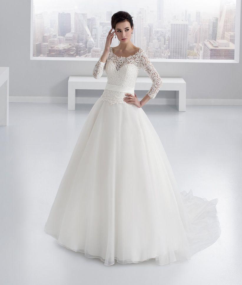 Preferenza 65 bellissimi abiti da sposa invernali: per risplendere nonostante  CP18