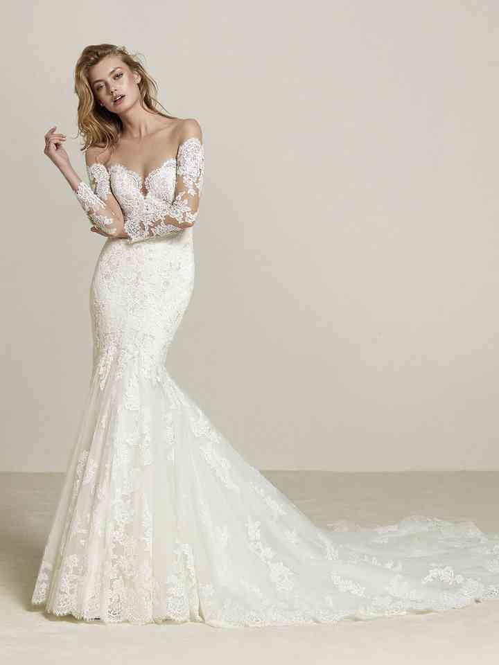 Abiti Da Sposa Sirena.40 Abiti Da Sposa A Sirena 2018 Lo Stile Sensuale Oltre Ogni Tendenza