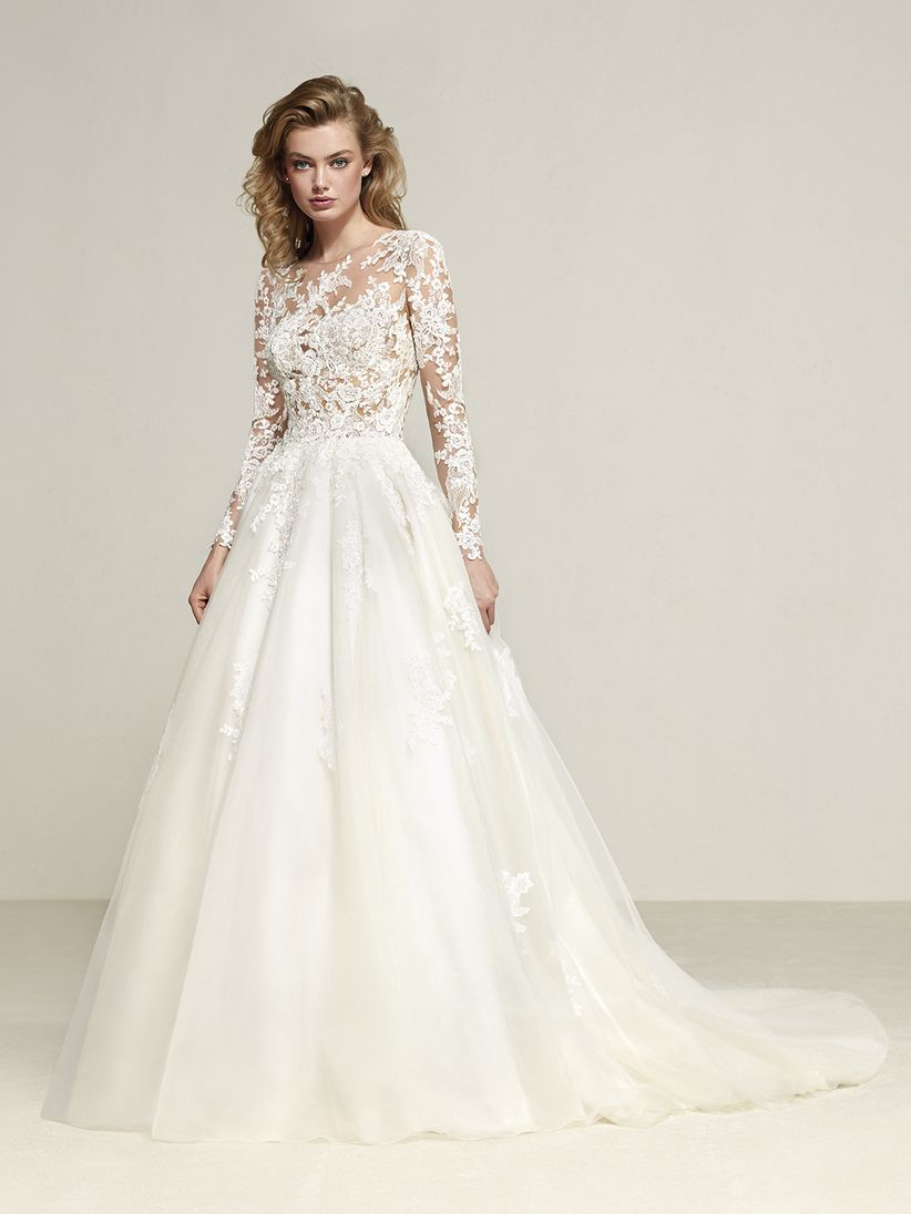 8d42fd80a669 60 abiti da sposa con maniche lunghe che vi conquisteranno
