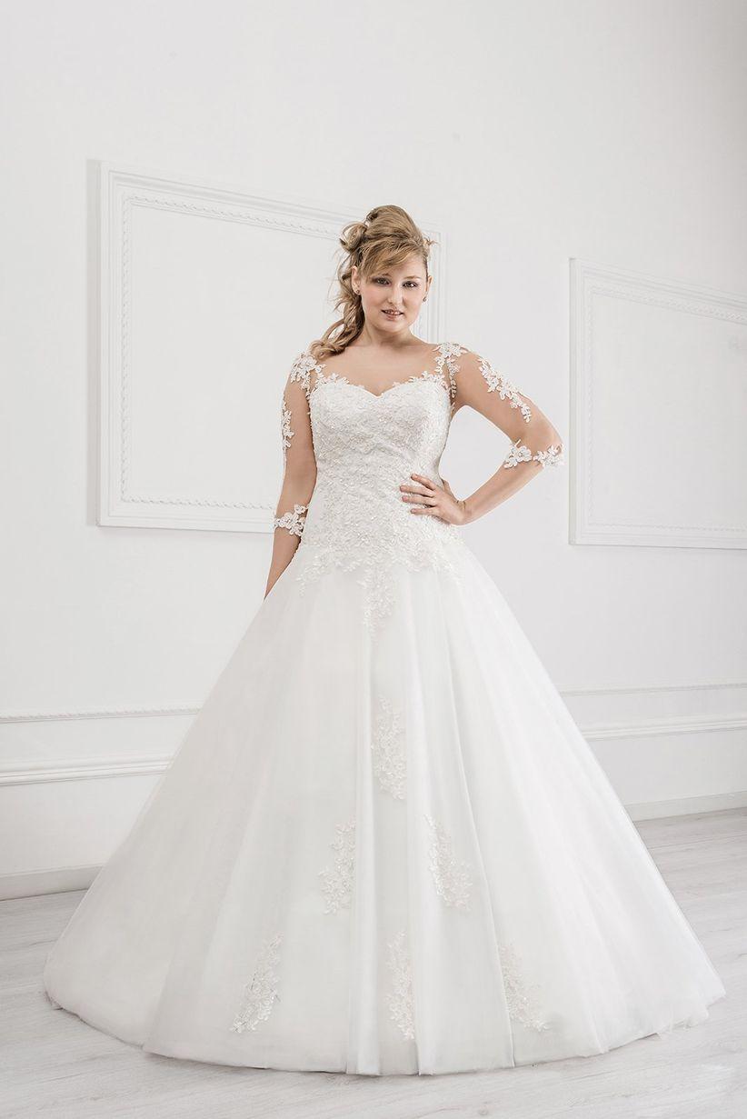 06a0a2cdfe49 ... cuore con. Le maniche perfette. Magnani. Se state scegliendo un abito  da sposa ...
