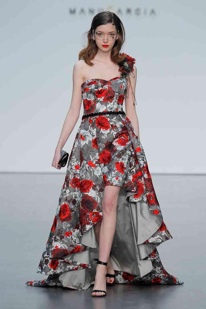 huge discount a2232 e5167 50 abiti da cerimonia con stampe floreali: mai più senza ...