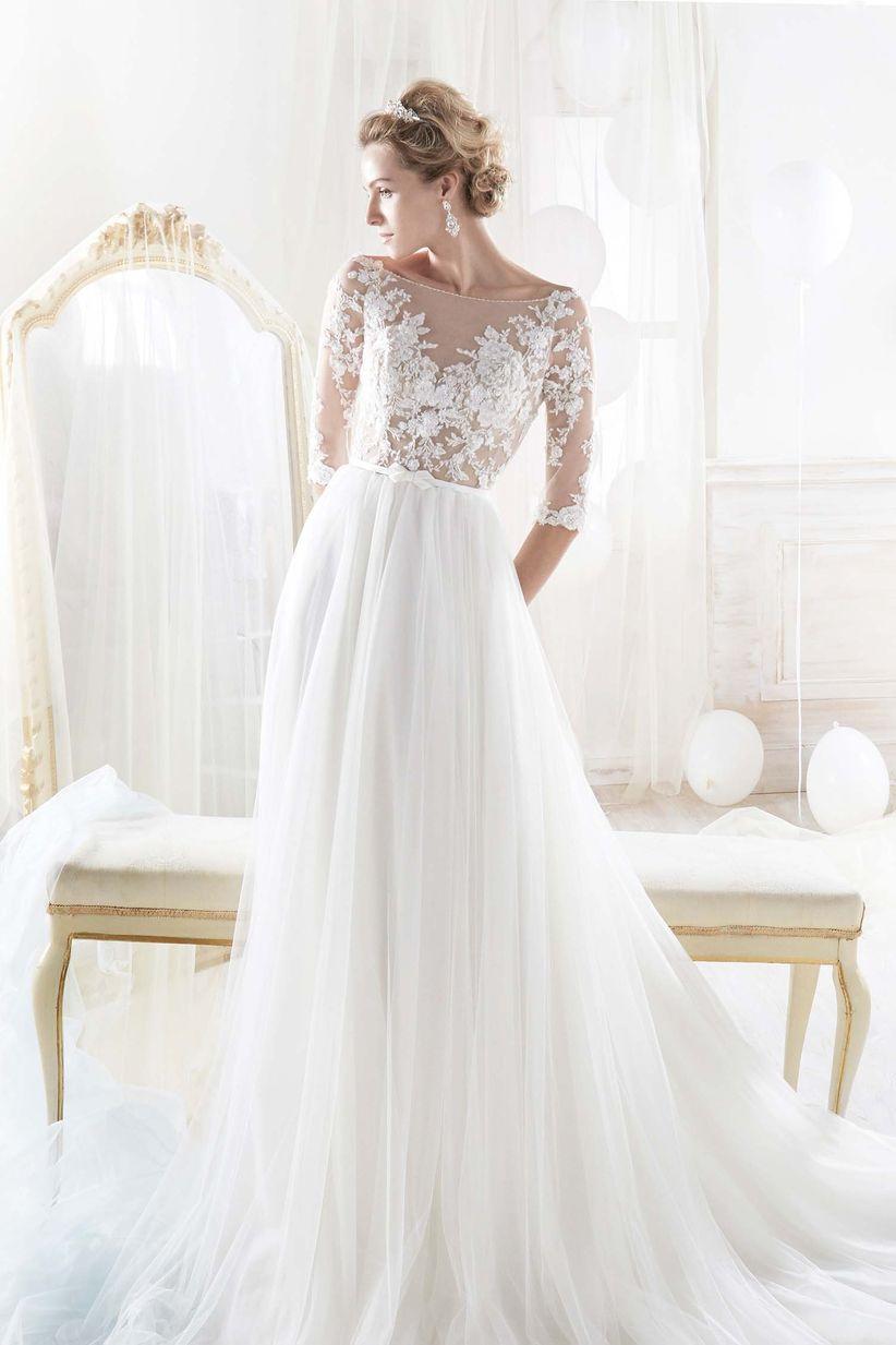 70034bd207f2 62 abiti da sposa per cerimonia civile