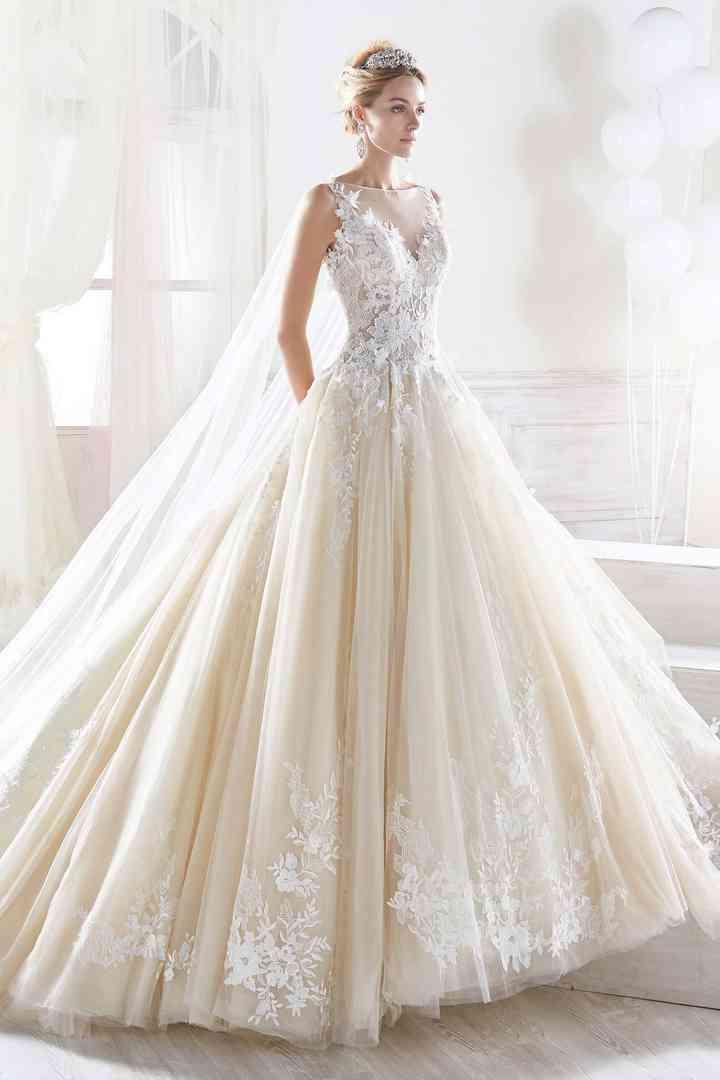acquista per genuino liquidazione a caldo ultimo sconto Come Cenerentola: 50 abiti da sposa stile principessa