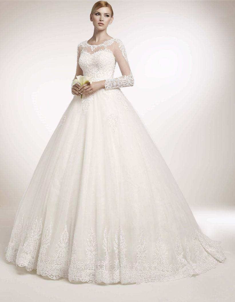 5c70b55cd65b 60 abiti da sposa con maniche lunghe che vi conquisteranno