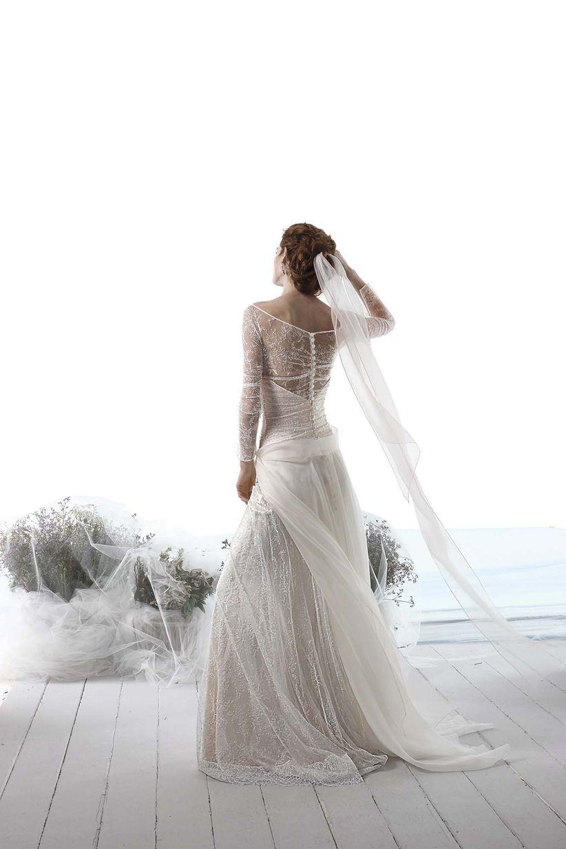 9b8da326f662 Veli da sposa alternativi  la scelta preferita di chi vuole osare