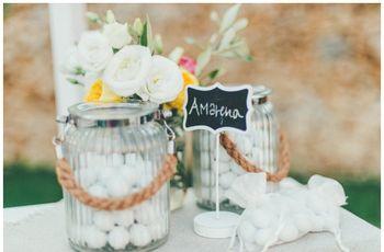 30 foto per il buffet di confetti delle vostre nozze