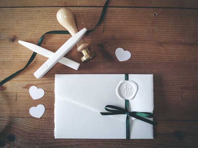 Iniziali degli sposi per le decorazioni di nozze: dove collocarle?