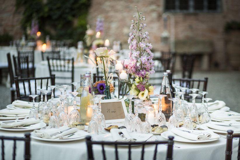 Shabby Chic Matrimonio Tavoli : Foto essenziali per decorare il vostro matrimonio a tema shabby