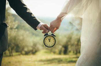 Wedding diary: il vostro countdown con l'organizzazione passo per passo