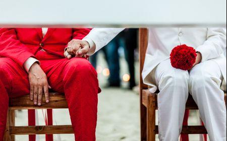 Protocollo di entrata alla cerimonia per nozze gay