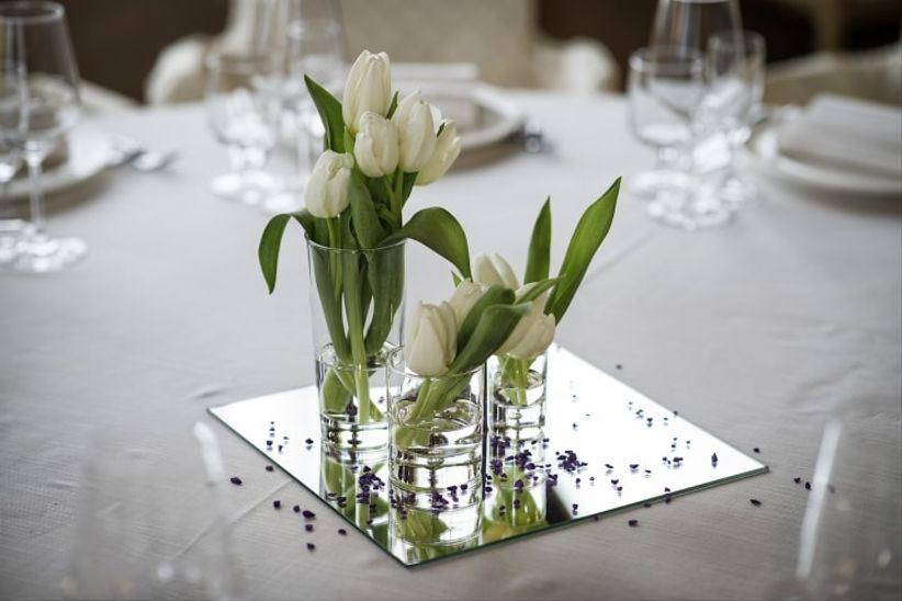nozze come decorare il giorno speciale : Come decorare un tavolo rotondo il giorno delle nozze
