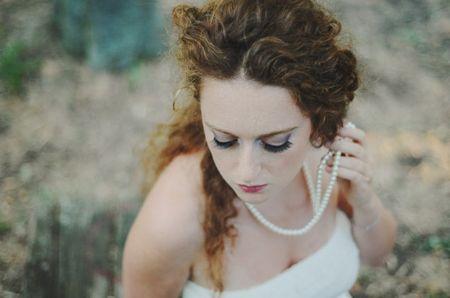 Ciglia finte per la sposa