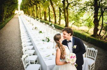 7 tendenze sul banchetto di nozze che non potete ignorare