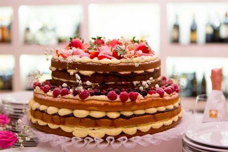PASTICCERIA EDEN | La naked cake | La torta nuda arriva a