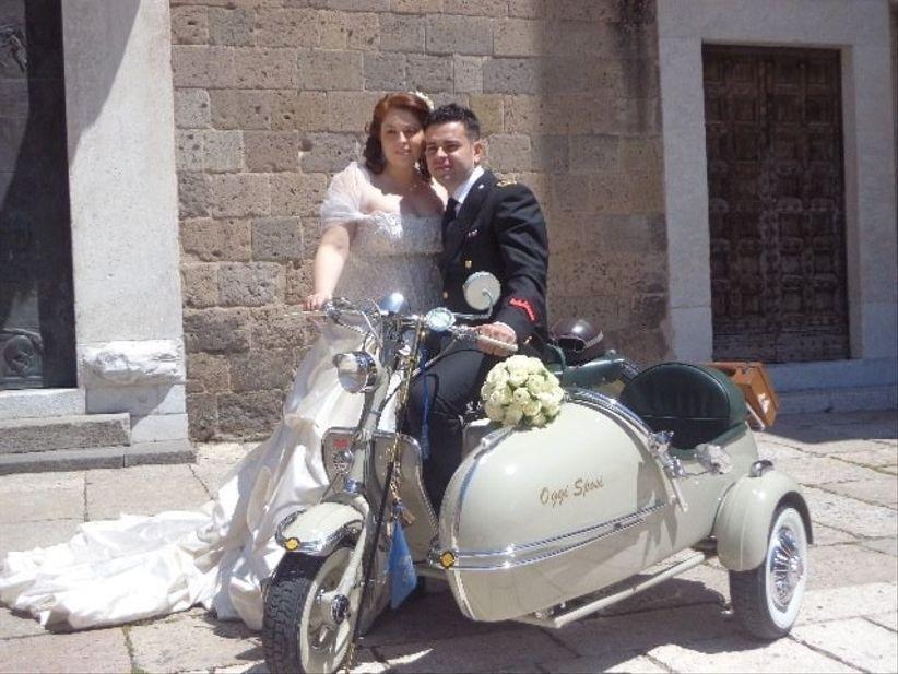 Matrimonio In Vespa : Idee per sposi motociclisti