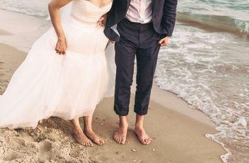 Anche gli sposi hanno i piedi! 5 scatti per un nuovo punto di vista