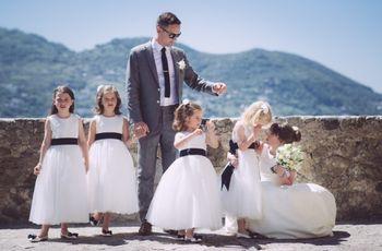 7 consigli per fare partecipare i bambini alla cerimonia