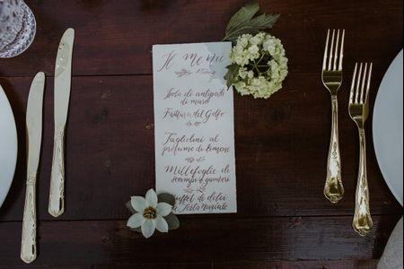 Come costruire un menù per il ricevimento di nozze