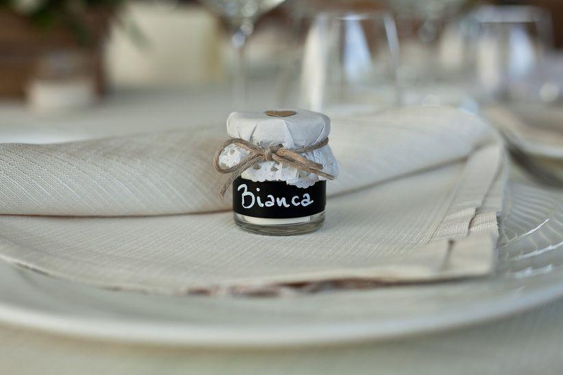 Segnaposto Matrimonio Azzurro : Segnaposto matrimonio fantastiche idee