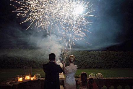 Un finale pirotecnico: celebrate le vostre nozze con i fuochi d'artificio!