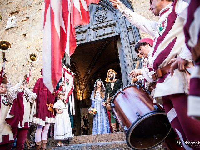 10 motivi per celebrare un matrimonio in stile medievale