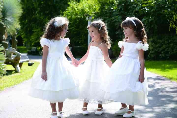 the best attitude ffcd9 3d055 Abiti da cerimonia per damigelle bambine