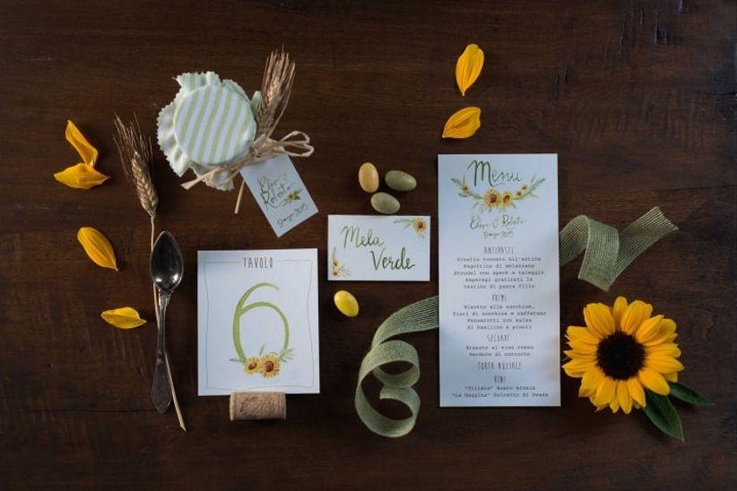 Partecipazioni Matrimonio Con Girasoli : Matrimonio con girasoli: 43 idee da non farvi sfuggire!