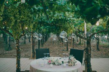 Organizzare un matrimonio tra le vigne d'Italia in 20 fotografie