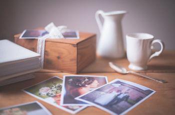 Scatola dei ricordi per gli sposi: cosa metterci dentro?