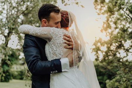 Gli abbracci più belli dei nostri matrimoni