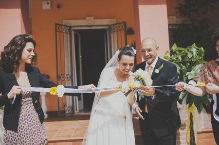 10 Idee per decorare il matrimonio con nastri
