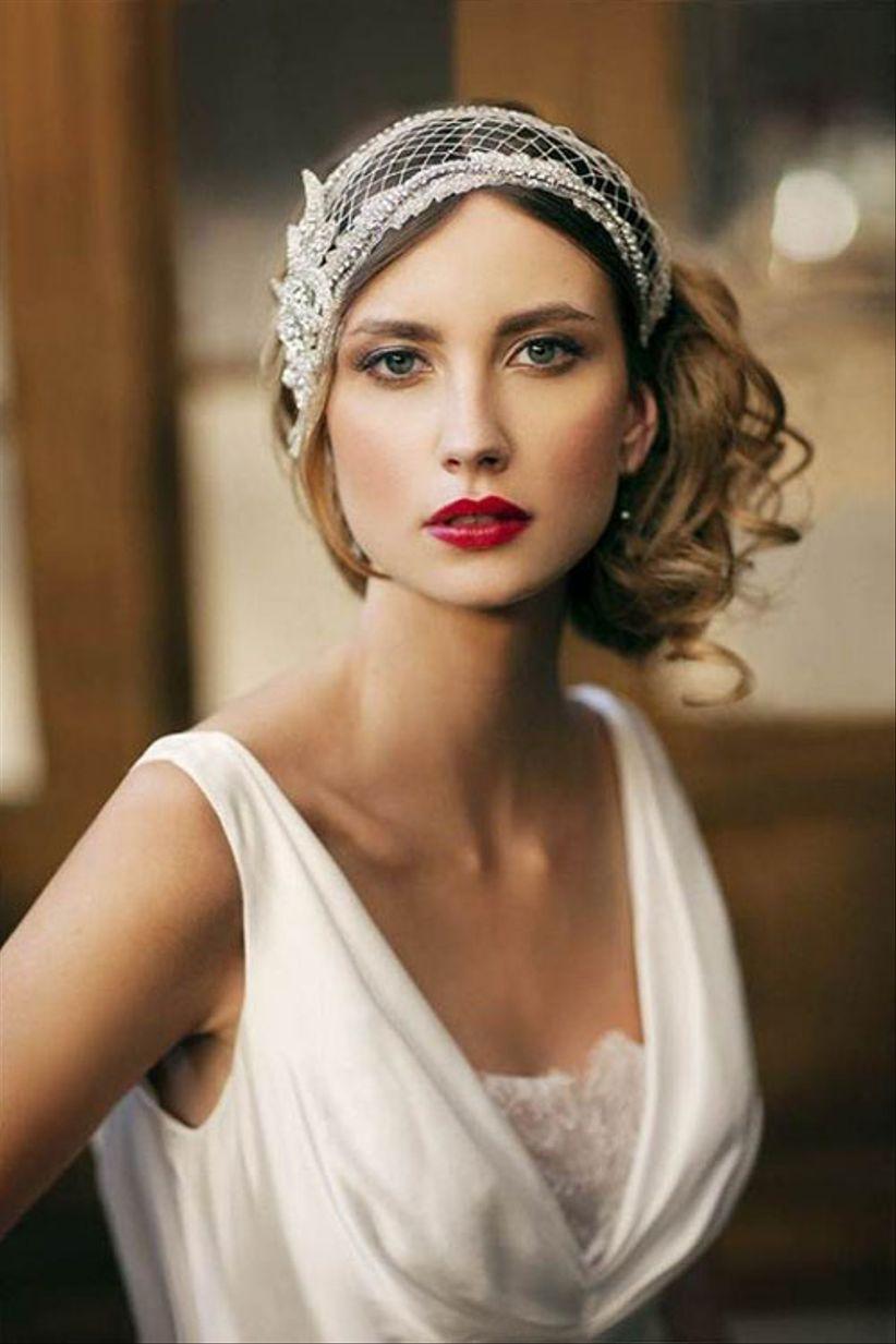 98e0218640f41 22 acconciature vintage per la sposa  il retrò è sempre di moda!
