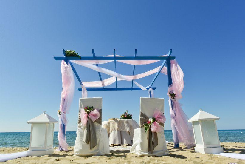 Matrimonio In Spiaggia Addobbi : Matrimonio tema mare