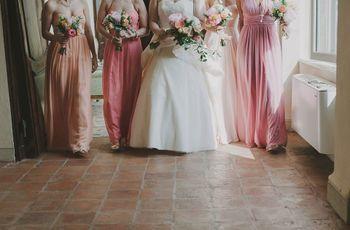 Abbigliamento damigelle d'onore: idee e consigli per scegliere l'abito giusto!